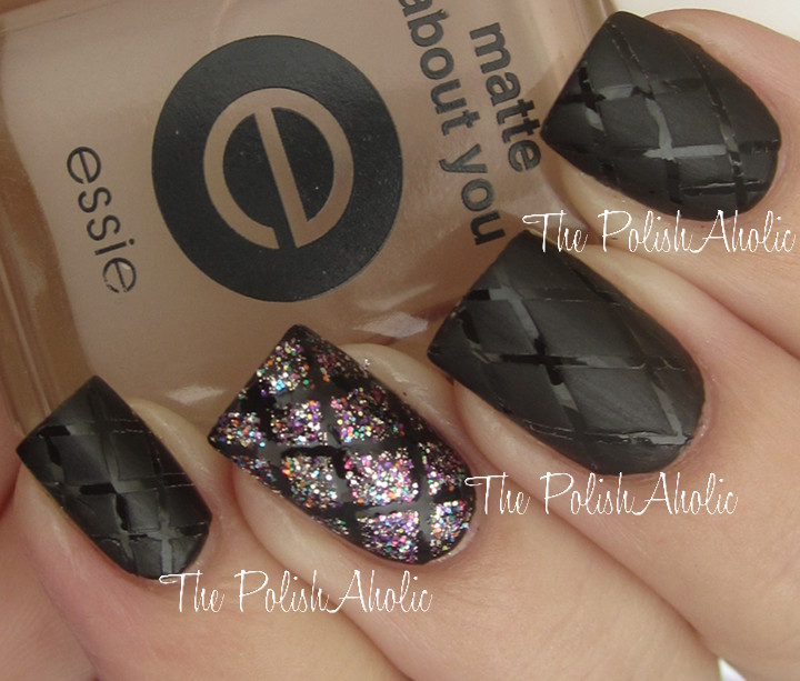 The PolishAholic: NOTD: Glossy/Matte Quilting