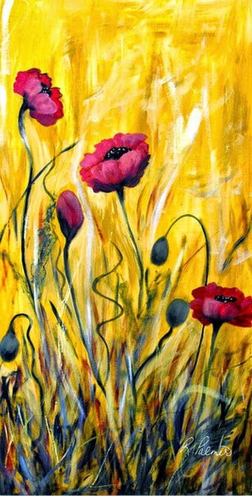 cuadros-modernos-flores-minimalismo