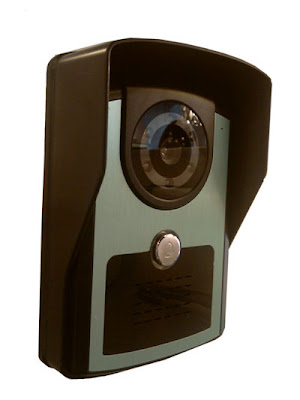 The L3121WCS Weatherproof Backlit Video Call Station for the L3100WVK Professional Video Door Entry System