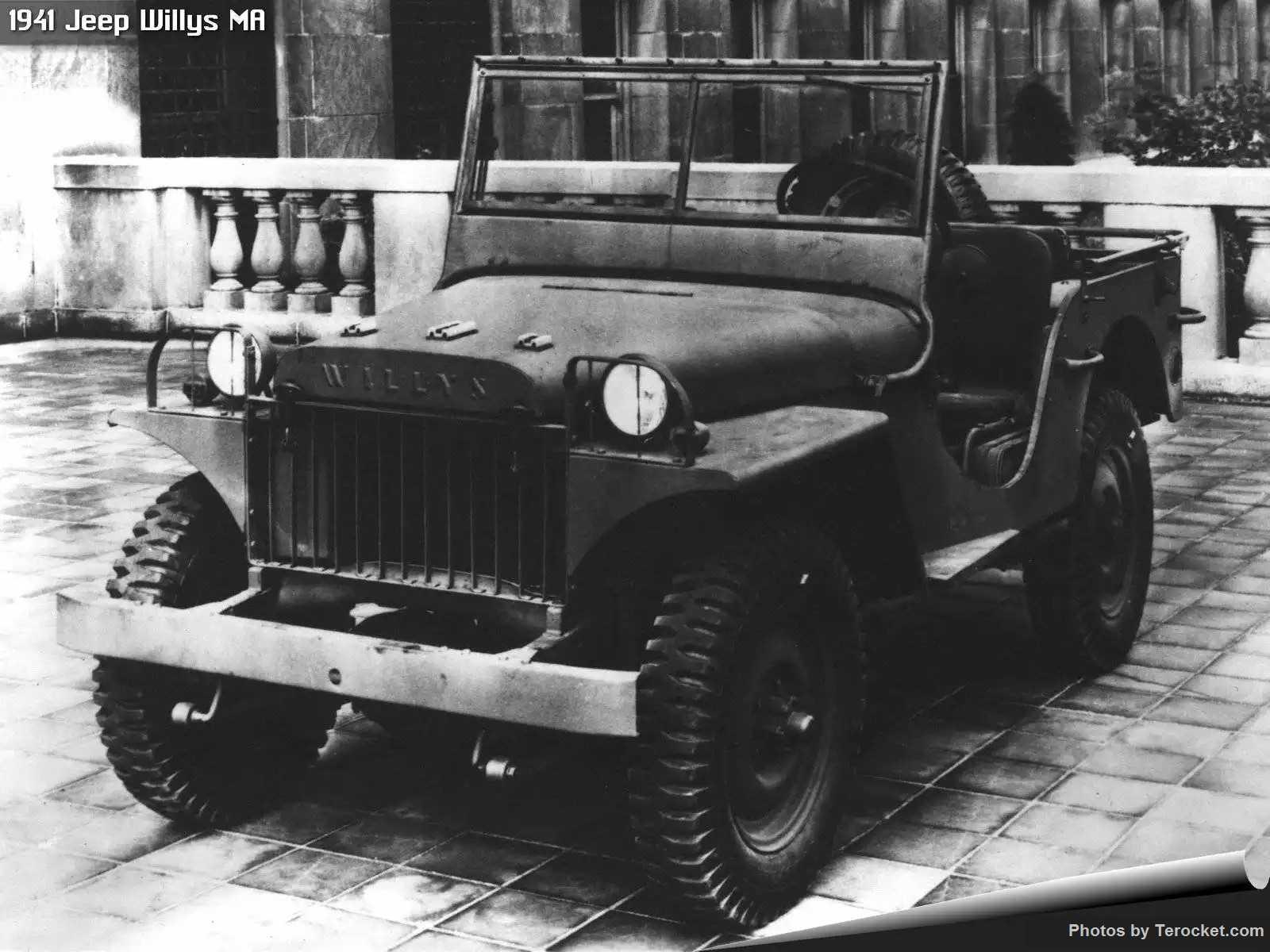 Hình ảnh xe ô tô Jeep Willys MA 1941 & nội ngoại thất