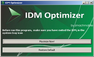 IDM Optimizer