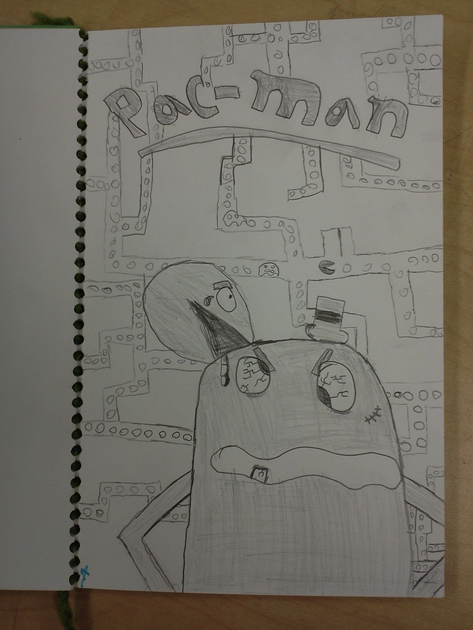 Ms T S Art Page Journal Idea Draw Your Favorite Video Game