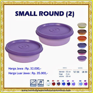 Small Round Tulipware 2013