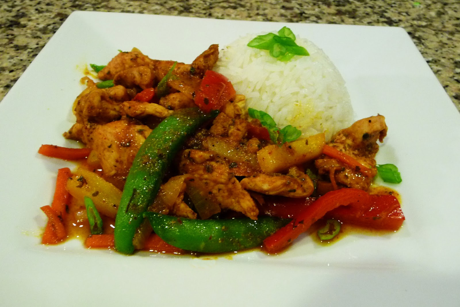 Spicy Chicken Stir-Fry ~ Easy Cooking
