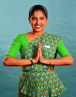 sri lankan air hostess