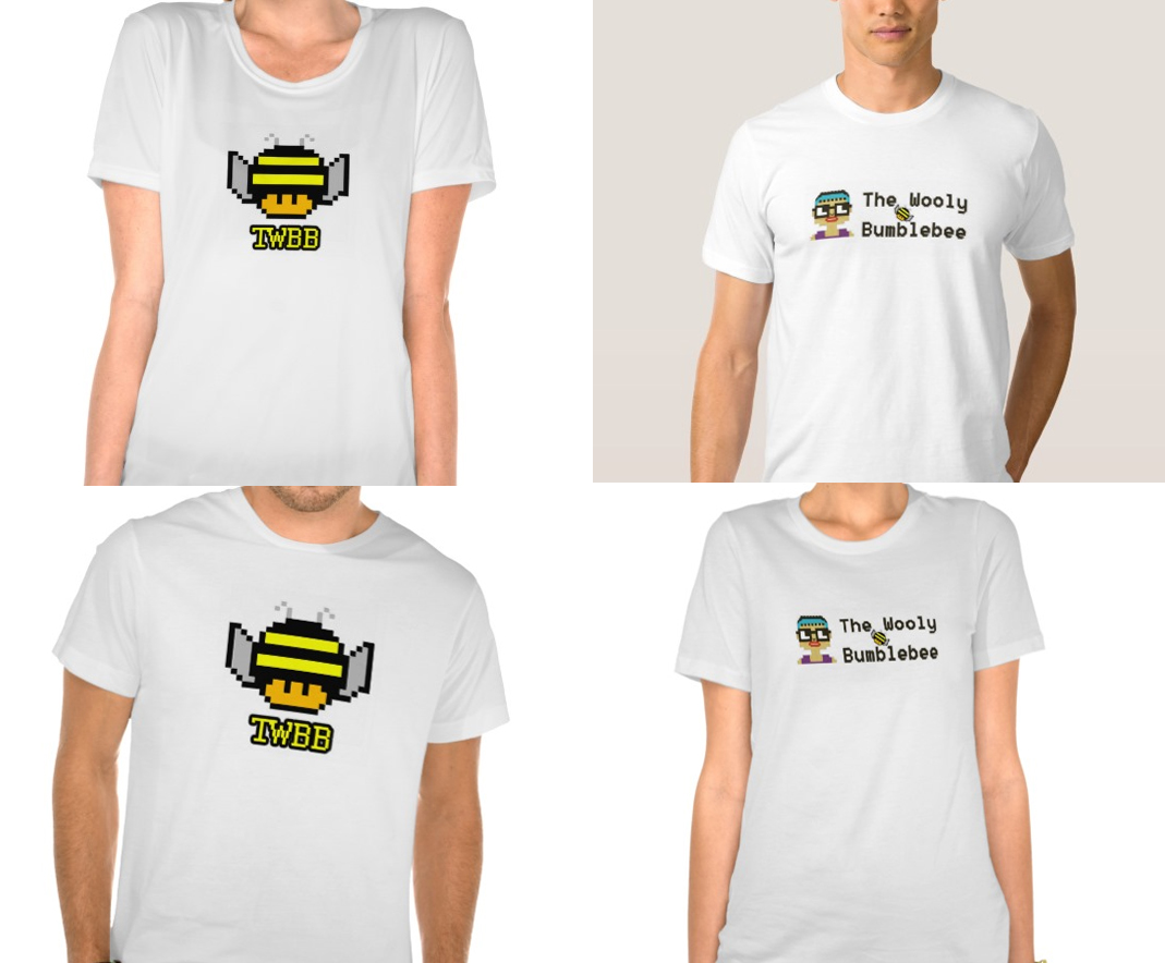 Get Your Official WoolyBumblebee Tees
