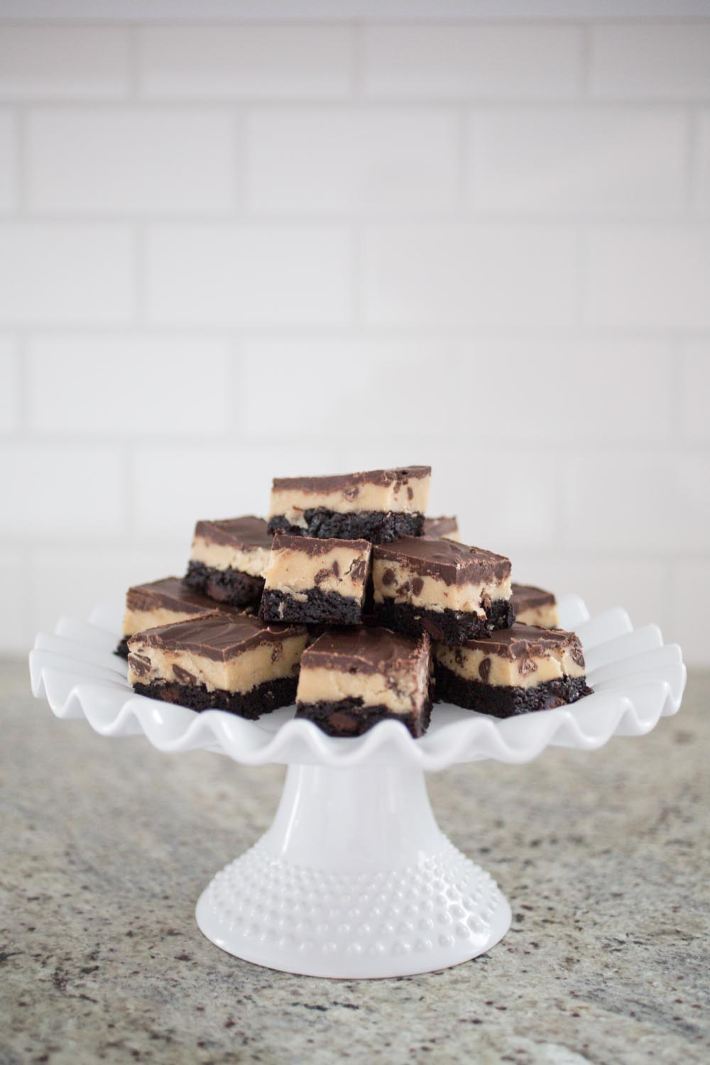 Easy Cookie Dough Brownie Recipe