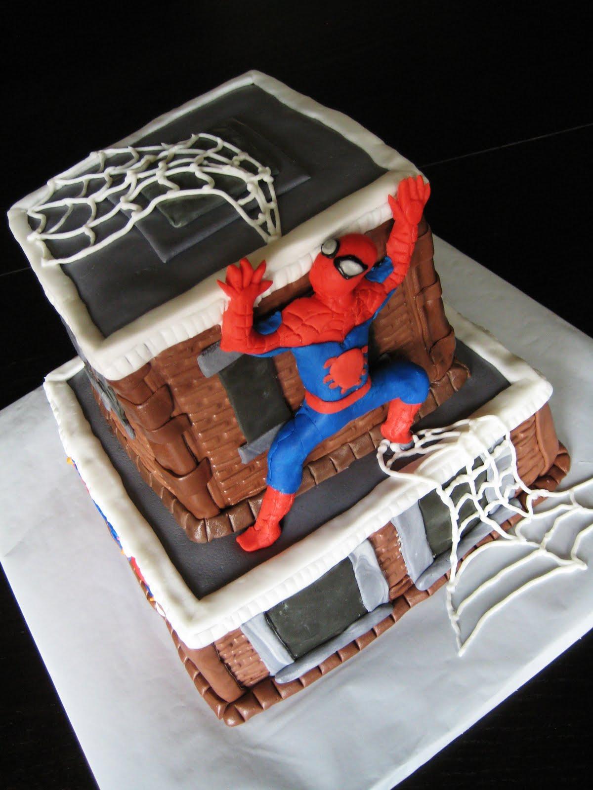 Spider-Man Cake Ideas