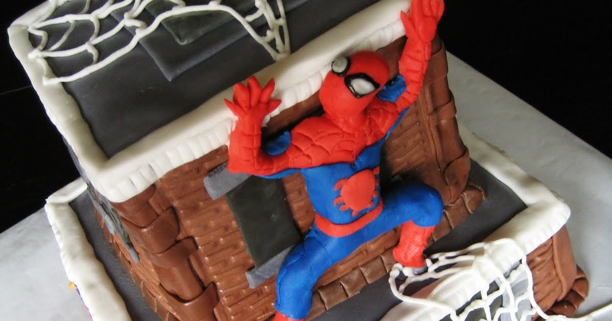 Spiderman Cake Topper Woolworths