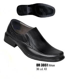 Sepatu kerja pria terbaru DR 3861