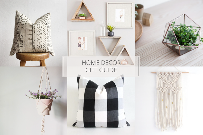 it but there is only a little less than six weeks left until christmas and if you have someone on your list that has an affection for home decor - Home Decor Gifts