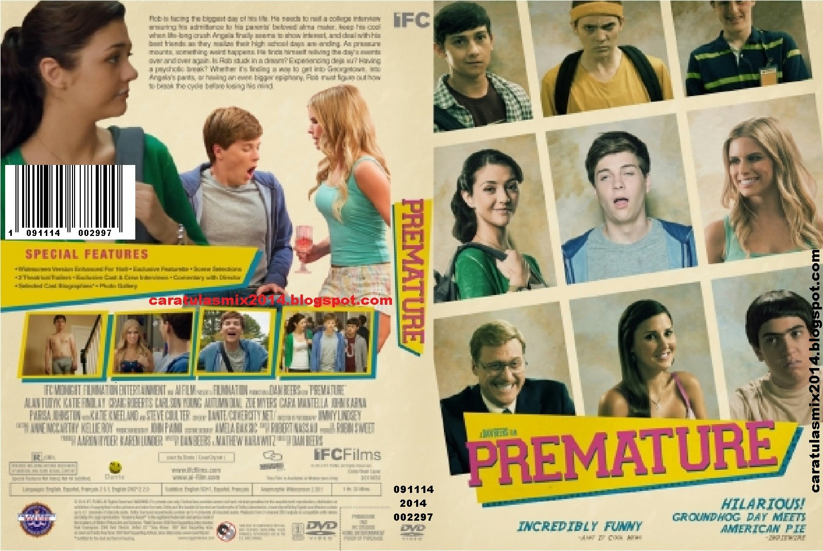 Premature | 2014 | BRrip | 420p | Mega