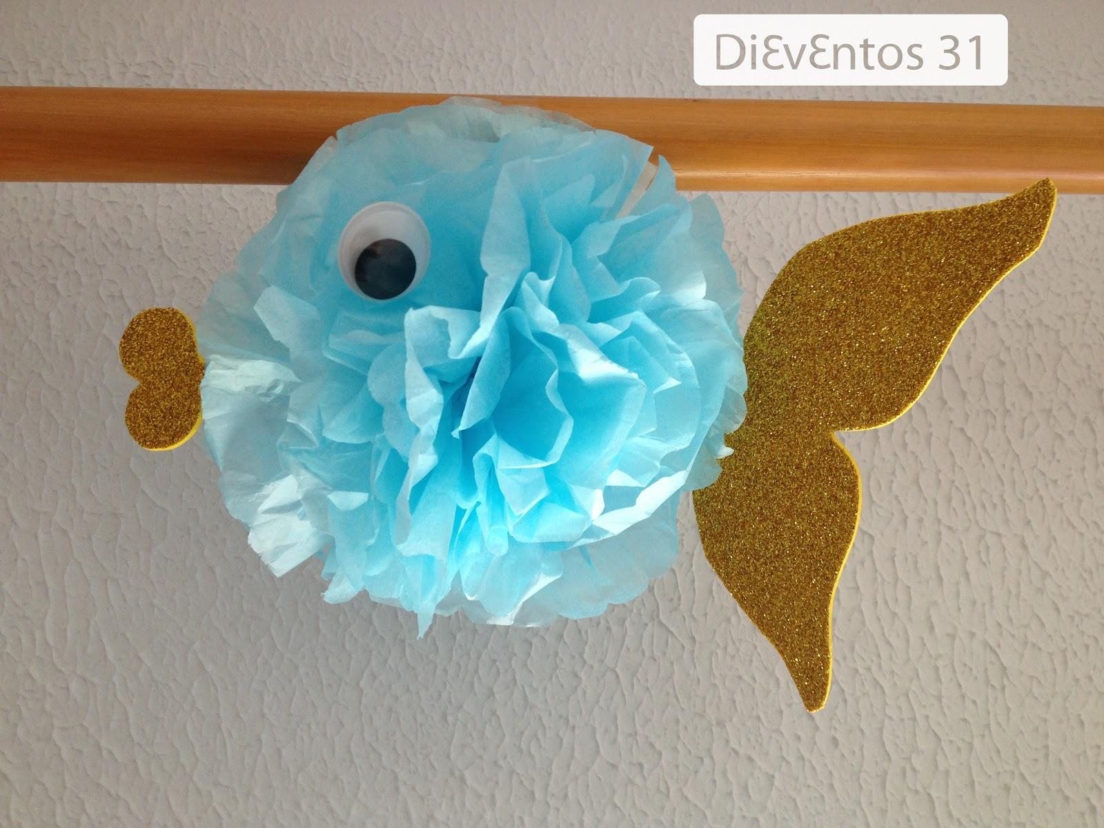 Dieventos 31: Decoración peces