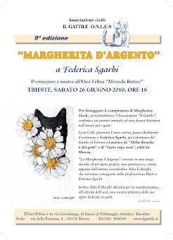 PREMIO MARGHERITA D'ARGENTO A FEDERICA SGARBI