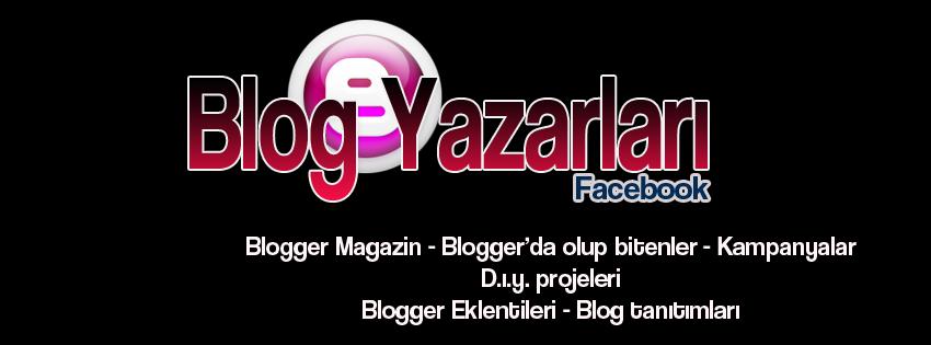 Blog Yazarları Facebook