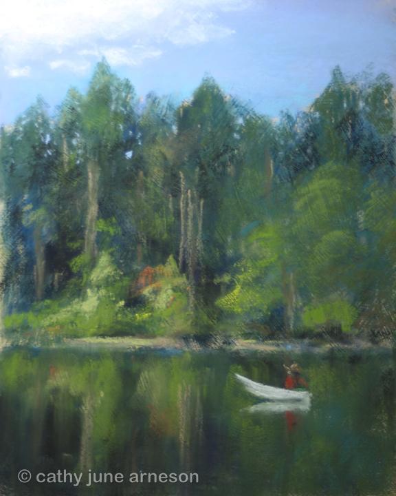 Cathy june arneson for Battle ground lake fishing
