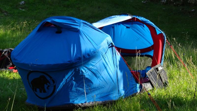 Mammut Tent & How To Go Trekking High Tech Style or How To Not Get Lost Outdoors