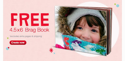 Walgreens Free Brag Book, ends 11/23