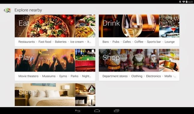 Google Maps android apk - Screenshoot