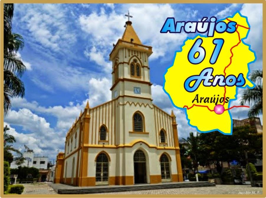 Igreja Matríz de Araújos Aos 61 Anos