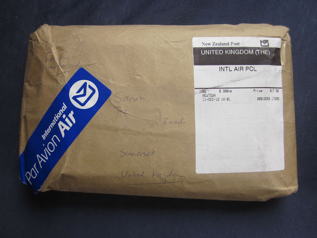 Parcel from New Zealand