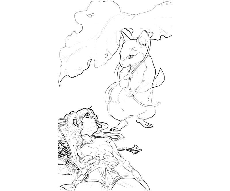 printable-youko-nakajima-sleep-coloring-pages