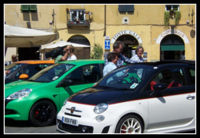 5ooblog | FIAT 5oo: New Abarth 500 C & Top Gear (Lucca)