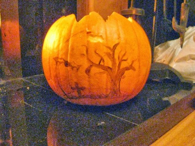 hallowen, dynia, pumpkin, diy, handmade