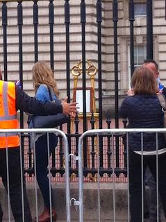 Buckingham Palace Easel Princess Charlotte London