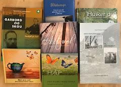 """Eg har """"begått nokre bøker""""."""