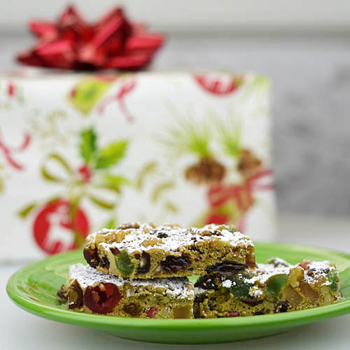 Mad About Maida: Christmas Fruitcake Bars