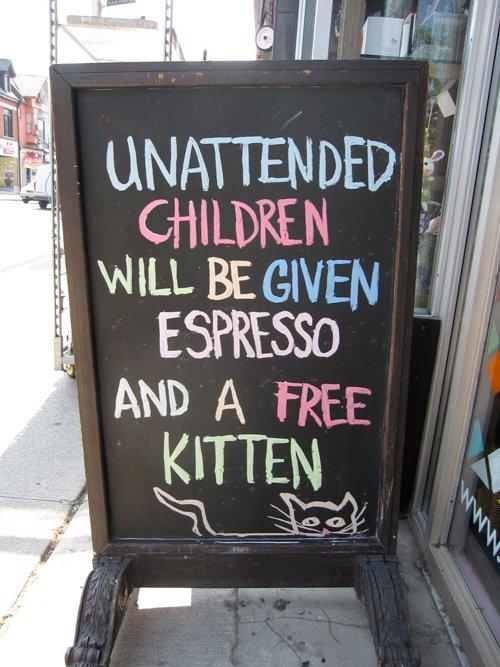 stop skilt til børneværelset