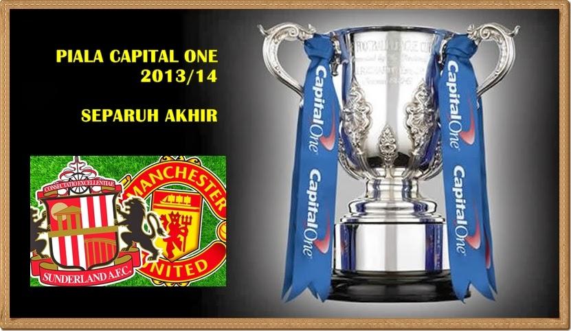 2014, KEPUTUSAN PIALA CAPITAL ONE CUP SEMI FINAL SEPARUH AKHIR 2014