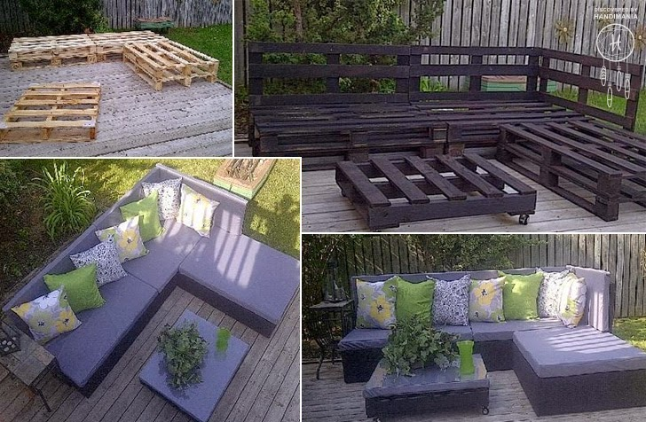 DIY Green Blog DIY Pallet Patio Furniture