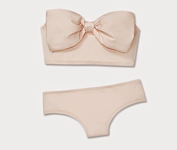 Retro bow bikini part of Kate Spade New York debut swimwear collection, resort 2015