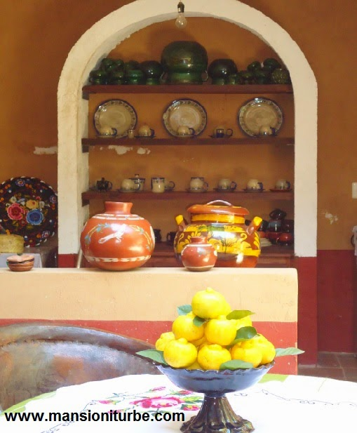 A traditional mexican cuisine in Santa Fe de la Laguna at Lake Patzcuaro