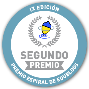 2º PREMIO ESPIRAL EDUBLOGS