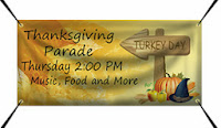 Thanksgiving Parade Banner Template