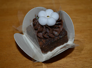 Brownie com chocolate