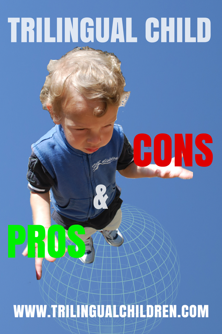 trilingual child pros and cons