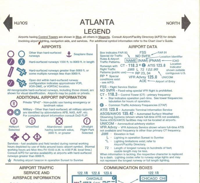 Sectional Chart Legend : Random light vfr sectional chart legend