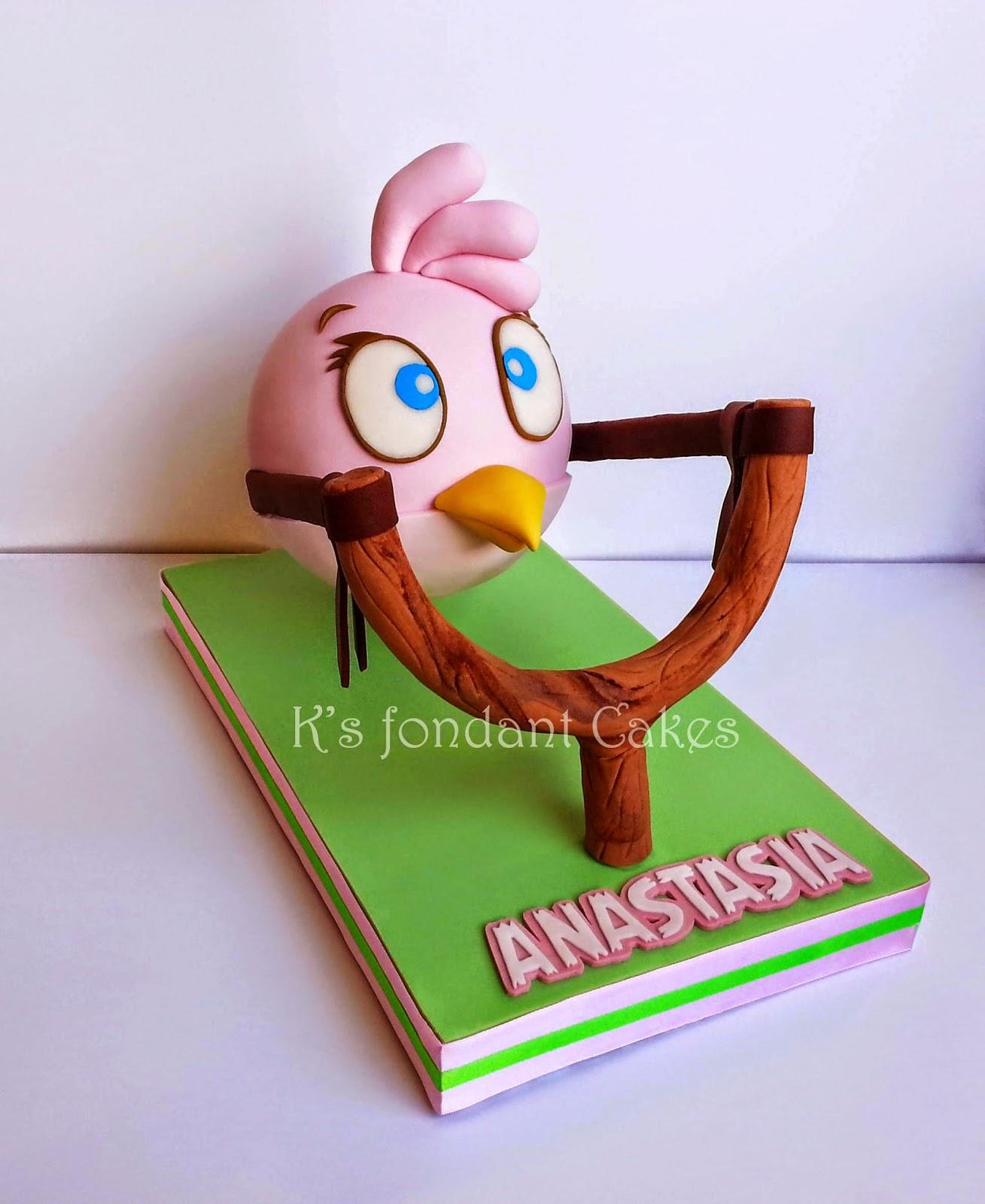 Bomb Bird Cake Angry Bird Stella Cake