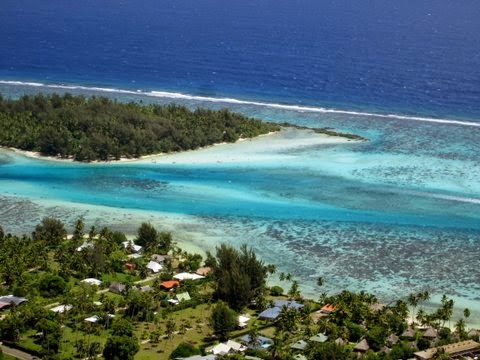 Motu Fareone à Hauru en Polynésie