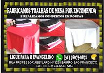 Fabricação de toalhas de mesa em Sete Lagoas Mg  ligue agora para 31 98673-6871