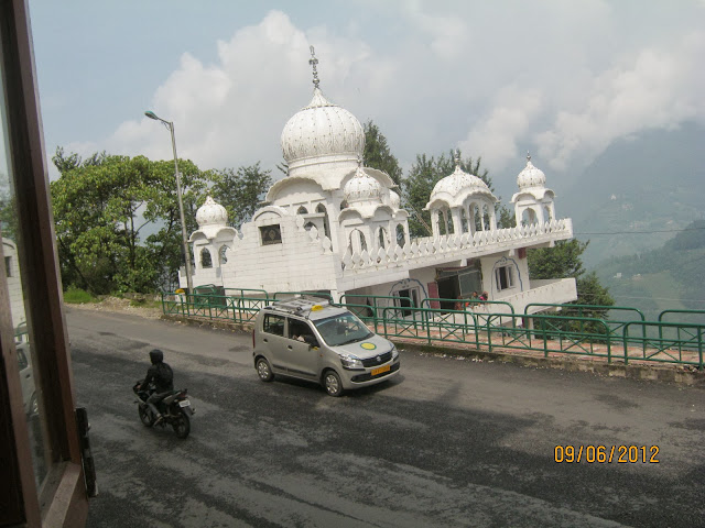 Gurudwara at Gangtok ,sikkim