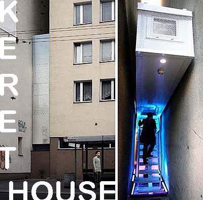 Keret House - Desain Rumah Minimalis Sempit