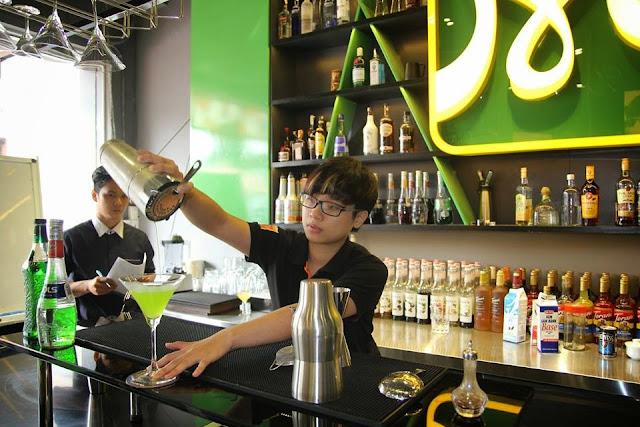 học bartender tại Đà Nẵng