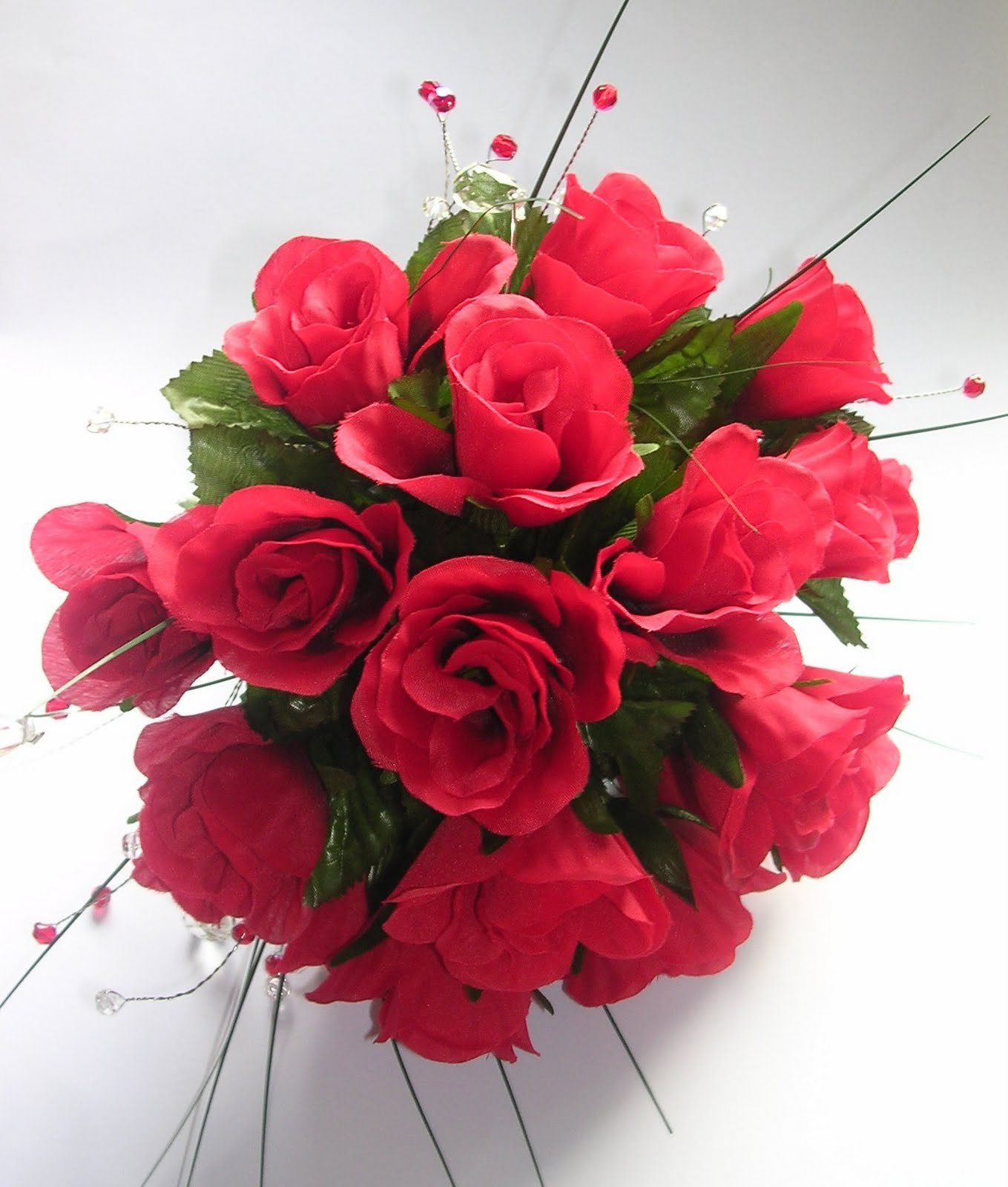 Crystal Velvet Weddings Wedding Flowers Rose Bouquet Red