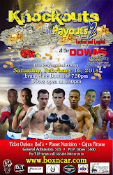 Get your tickets now for Knockouts and Payouts! Big event from Louisiana! Click poster for info!
