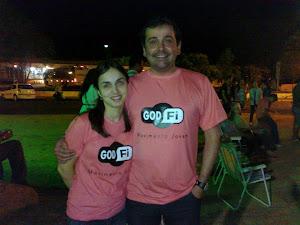 Pr Reuel e Paty, casal líder da Juventude IBN-SG
